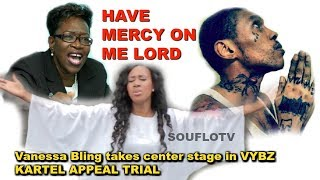 Vanessa Bling takes center stage in vybz Kartel appeal trial