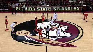 Clemson Women's Basketball    Highlights vs. #22/18 Florida State