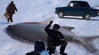 Рыбалка с дядей на белой девятке. Берегись автомобиля!