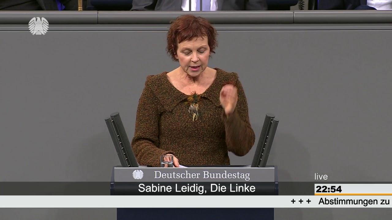 Rede von Sabine Leidig am 14. Februar 2019 im Deutschen Bundestag zum Thema Glyphosat – NEIN DANKE!