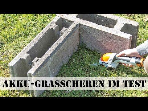 Akku-Grasscheren Test
