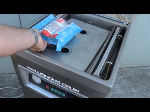 Vacuum Packer for vacuuming pouches to store food