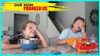 OUR MOM PRANKED US  😖🤣👩#331