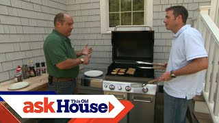 How to Install a Natural Gas Barbecue Grill | Ask This Old House