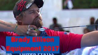 Brady Ellison Outdoor Equipment 2017