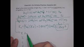 C5M Complex Ion & Solubility