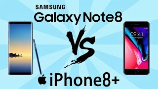 note 8 vs iphone 8 plus español - मुफ्त ऑनलाइन