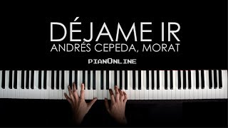 Andrés Cepeda, Morat - Déjame Ir - Piano Tutorial Cover + Acordes y Letra - Karaoke V1