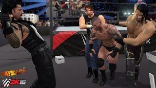 WWE 2K16 Recreation: Payback 2015 Fatal 4 Way (The Shield Triple Powerbomb Randy Orton!)
