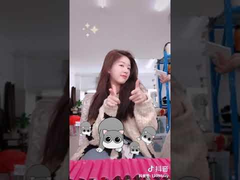 [抖音tiktok]中國女明星《趙露思》玩抖音超可愛