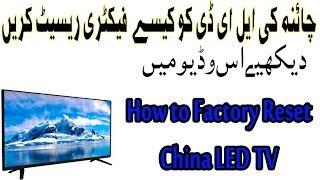 china tv factory reset - Thủ thuật máy tính - Chia sẽ kinh nghiệm sử