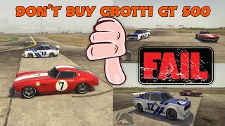GTA 5 ONLINE | NEW DLC DRAG RACE GROTTI GT 500 VS SAVESTRA LET SEE WHO WIN!!?