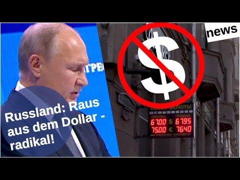 Russland: Raus aus dem Dollar – radikal! [Video]