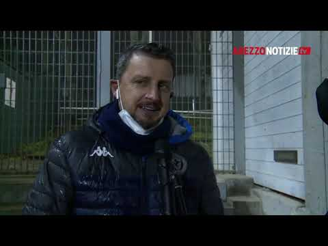 Imolese-Arezzo 0-2, intervista a mister Camplone