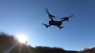 Drohne fliegen und landen Potensic Brushless FPV Drohne mit 1080P Kamera, GPS D60 Flug Anleitung