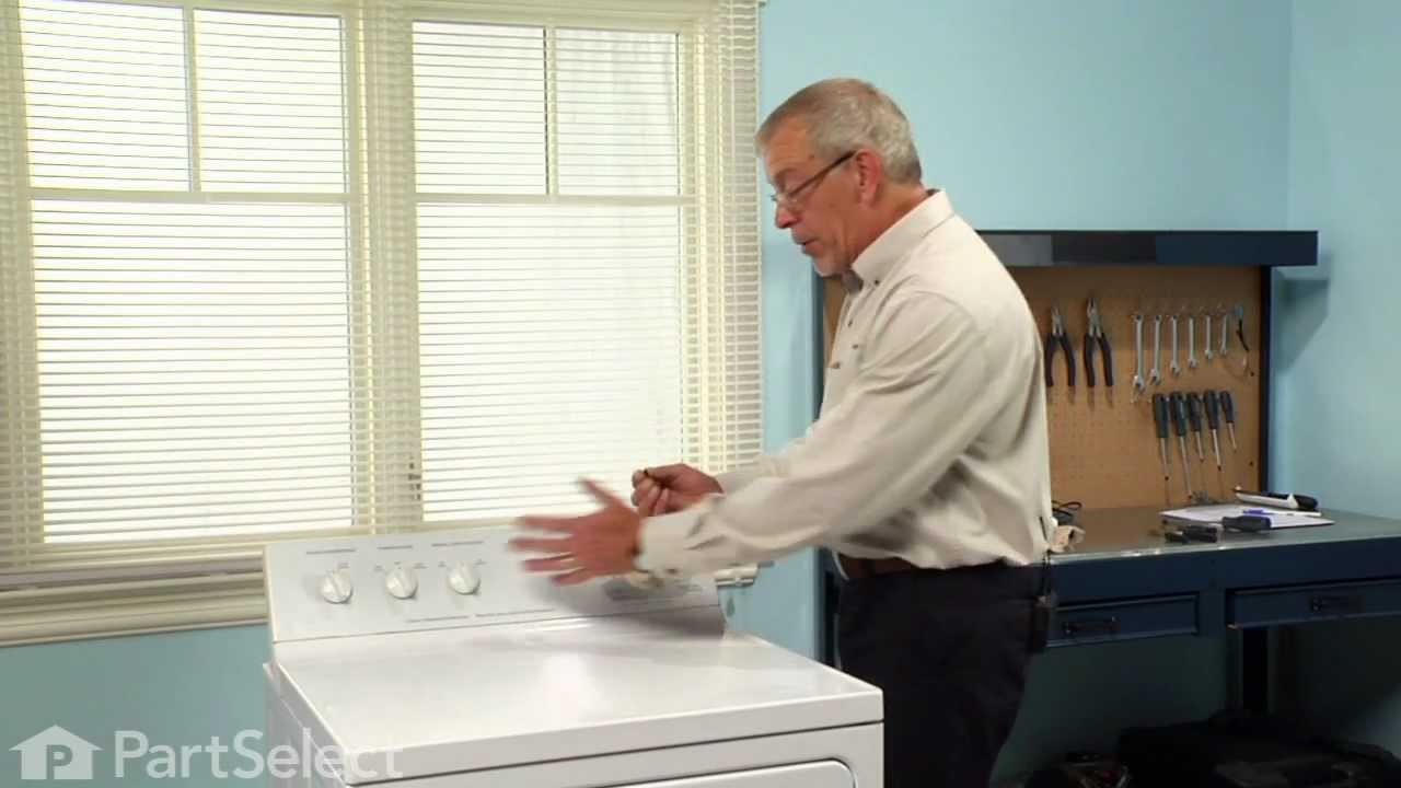 Replacing your General Electric Dryer D-Shaped Knob Insert Clip