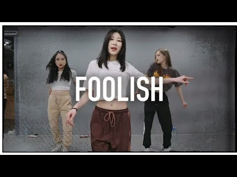 [MIRRORED]FOOLISH - Meghan Trainor / Tina Boo Choreography