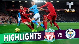 Liverpool vs. Manchester City: 3-1 Goals & Highlights | Premier League | Telemundo Deportes