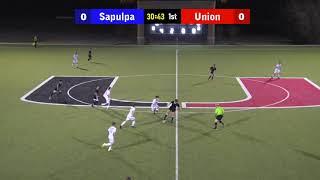 BOYS Sapulpa vs. Union