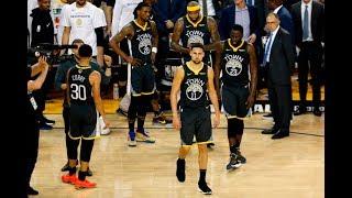 Клэй Томпсон получил разрыв крестообразных связок в шестом матче финала плей-офф НБА