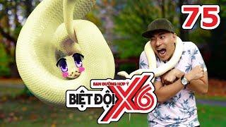 Biệt Đội X6 | Tập 75 | Kiều Minh Tuấn sợ rắn - 'Cô giáo Khánh' Duy Khánh Zhou Zhou tham gia | 230617