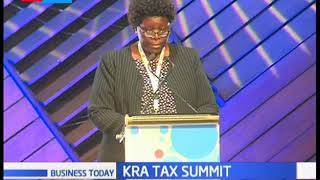TAX SUMMIT: KRA urge Kenyans to comply with tax regulations at the 5th KRA tax summit.