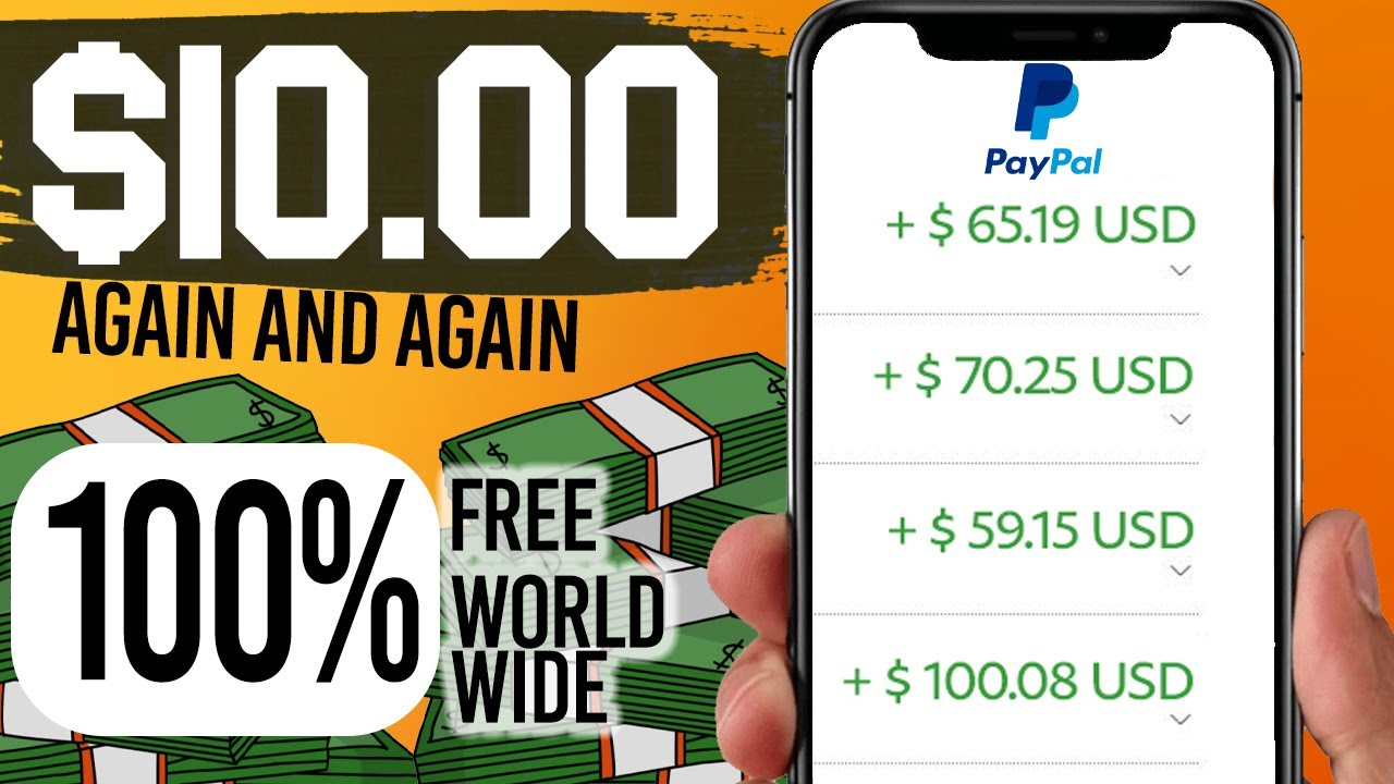 MAKE $10.00 Limitless PayPal Cash within 4 minutes! How To Make Free PayPal Cash 2021 thumbnail