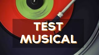 Descubre con este test de musica que tipo o genero de musica eres! ↠↠ ¡No te olvides de suscribirte para no perderte ningún test!