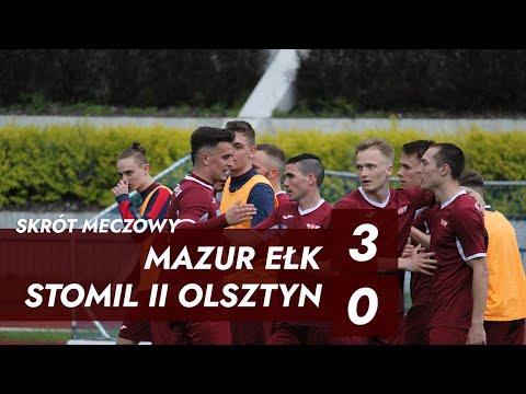 Skrót meczu Mazur Ełk  - Stomil II Olsztyn 3:0