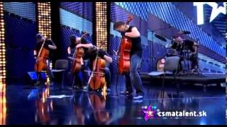 Video Česko Slovensko má talent - ARRHYTHMIA