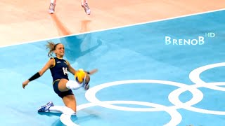 TOP 10 Best Volleyball Actions | Women's Volleyball Digs | Women's Volleyball Saves ● BrenoB ᴴᴰ