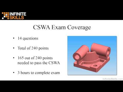 Certified SolidWorks Associate (CSWA) Tutorial   Exam Coverage ...