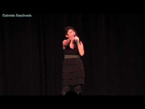 WHO'S LOVIN YOU- Gabriela Sepúlveda 14 year old-SEMIFINALS SOUTH BAY TEEN IDOL 2014-The Jackson 5