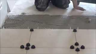 Fliesen Nivelliersystem - Verlegung von Fliesen ohne Überzähne
