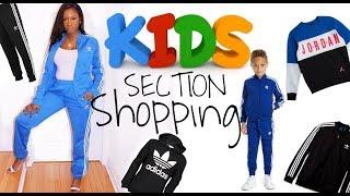 SHOPPING IN THE KIDS SECTION?! | Footlocker: Adidas & Jordan Apparel