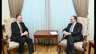 Zohrab Mnatsakanyan's meeting with, the EU Special Representative for the South Caucasus and the Crisis in Georgia