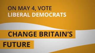 On Thursday 4 May, vote Liberal Democrats