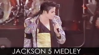 "Michael Jackson - ""J5 Medley"" live Dangerous Tour Argentina 1993 - Enhanced - HD"