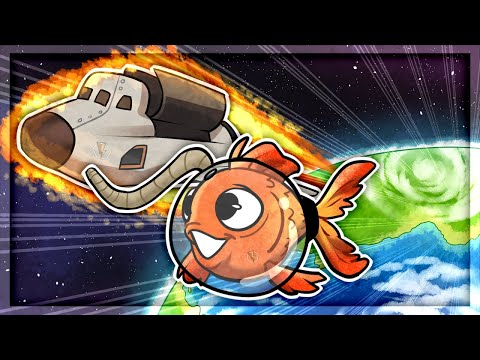I ESCAPED The SECRET Space Station in I Am Fish