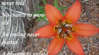 You Were ( a love song for a baby born still) .wmv