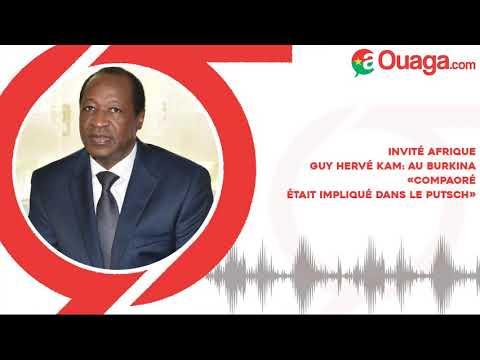 Guy Hervé Kam: au Burkina, «Compaoré était impliqué dans le putsch» Guy Hervé Kam: au Burkina, «Compaoré était impliqué dans le putsch»