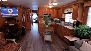 1990 Stardust 16 X 62 Houseboat For Sale On Norris Lake Tennessee - SOLD!