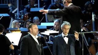 O' Sole Mio - Joseph Calleja and Andrea Bocelli 2017 concert