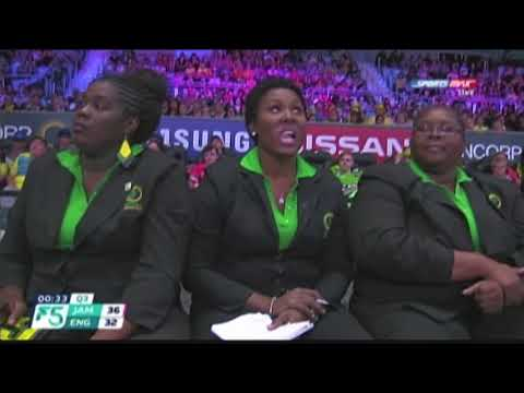 Netball Highlights Jamaica Vs New Zealand Pt 2.