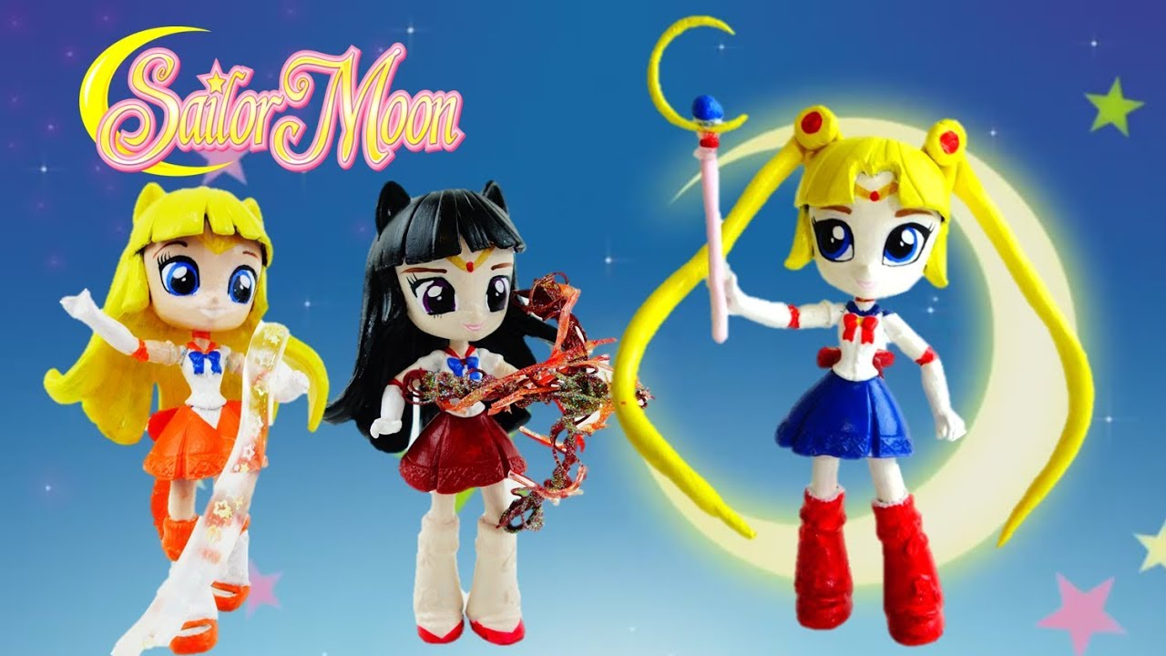 Compilation Sailor Moon - Sailor Mars - Sailor Venus Custom Dolls