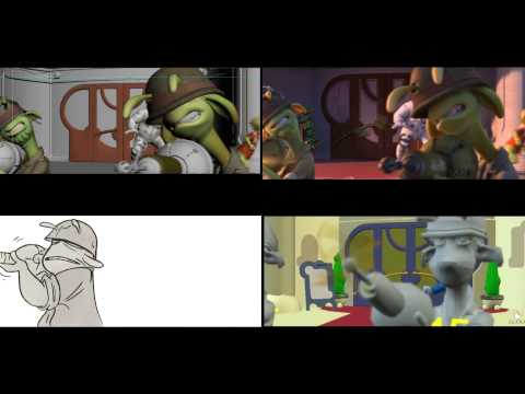 Planet 51 - Animation Progress Reel #2