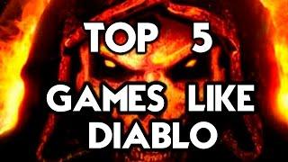 TOP 5 GAMES LIKE DIABLO (BEST ACTION RPG GAMES)