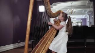 Anna Ilina. Harp. Mozart. La Tartine Beurree