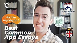 youtube video thumbnail - UPenn, Dartmouth & Brown: My Favorite Common App Essays | Ask Sam Anything Ep. 5