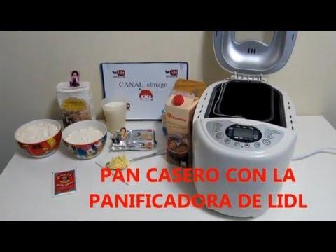Hacer pan casero con la panificadora de Lidl
